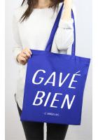 Tote bag Bleu Gavé Bien