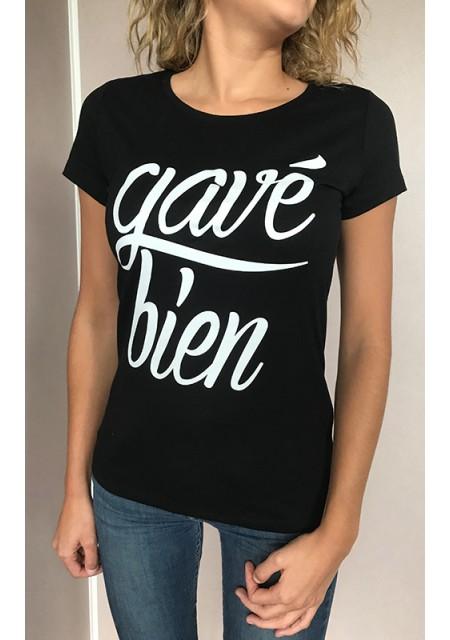 T-shirt femme Gavé bien