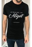 T-shirt homme Je peux pas j'ai Aligot