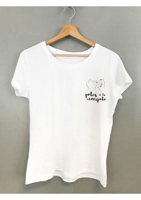 T-shirt femme Meuf du Hood