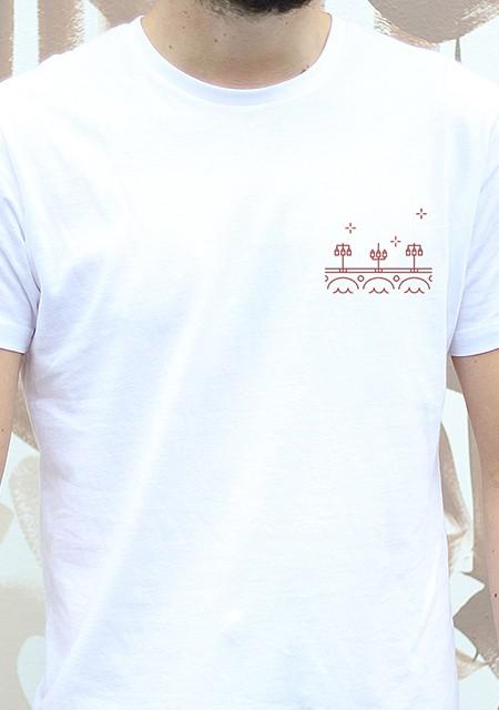T-shirt Homme Gavé Bien Le Pont de Pierre