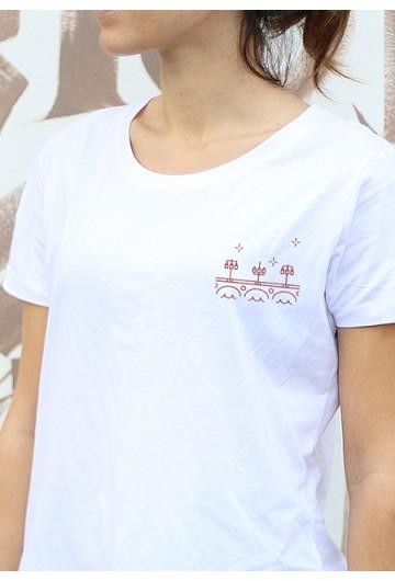 T-shirt femme Gavé Bien Le Pont de Pierre