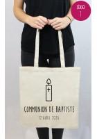 Tote bag communion personnalisé