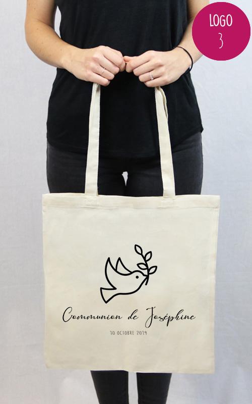 Tote bag personnalisables pour une communion