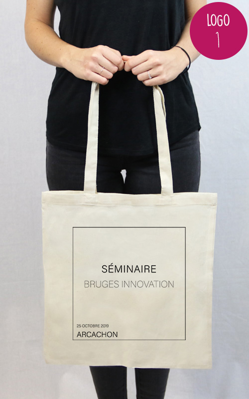 sac personnalisé pour un séminaire et évènement d'entreprise